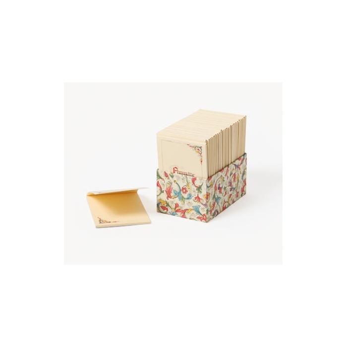 Bloc-notes decorat cu fir de aur FLORENTIA 8.5x12.5cm