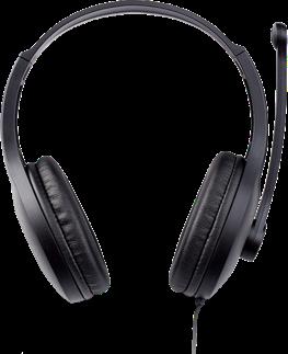 Casti EDIFIER Stereo, microfon pe casca,  black,