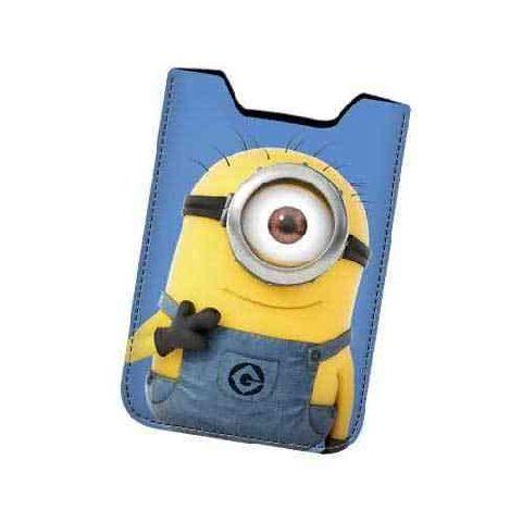 Husa telefon 9x14x1cm,Minionii