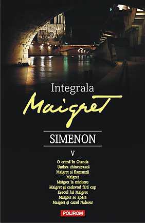 INTEGRALA MAIGRET, VOL V