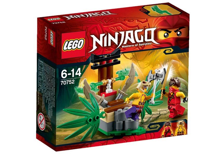 Lego-Ninjago,Capcana în jungla
