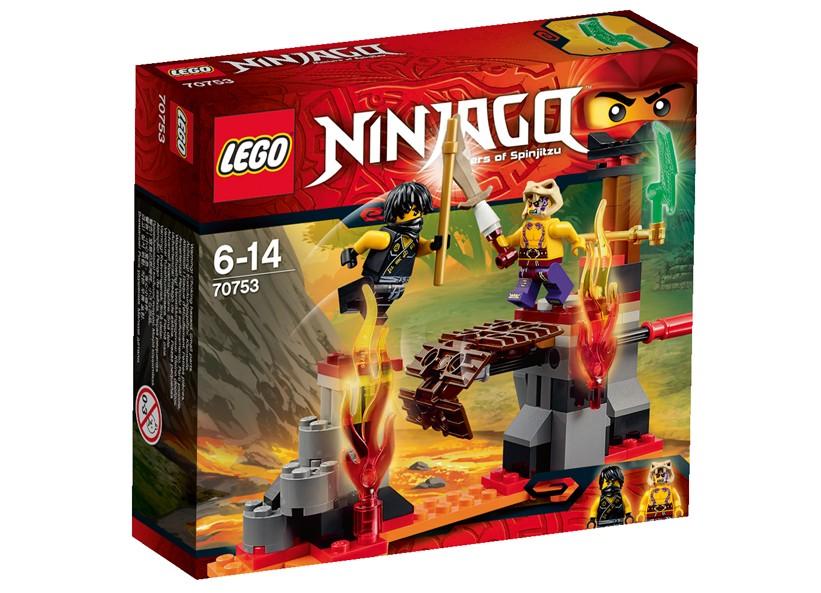 Lego-Ninjago,Cascada de lava