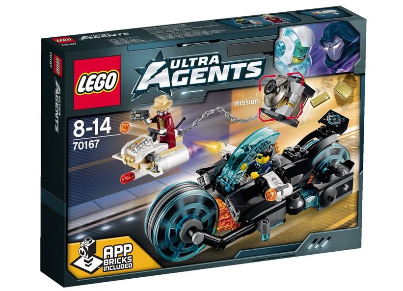 Lego-Agents,Fuga lui Invizable