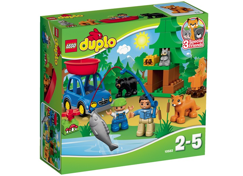 Lego-Duplo,La pescuit pe lac