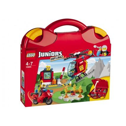 Lego-Juniors,Valiza Pompieri