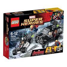 Lego-Super Heroes,Razbunatori