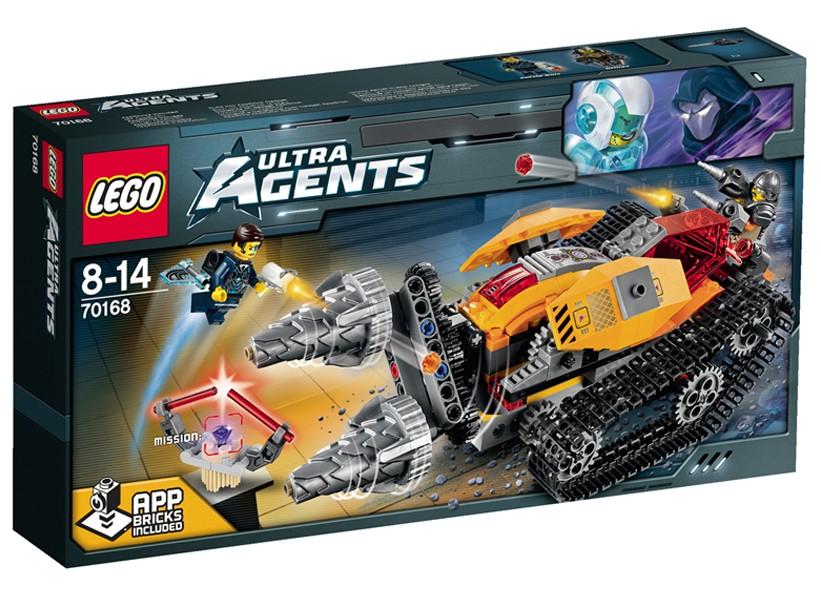 Lego-Agents,Drillex si furtul