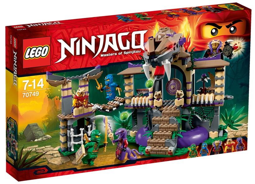 Lego-Ninjago,Intrare Templu
