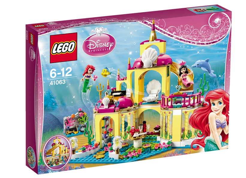 Lego-Disney Pricess,Ariel