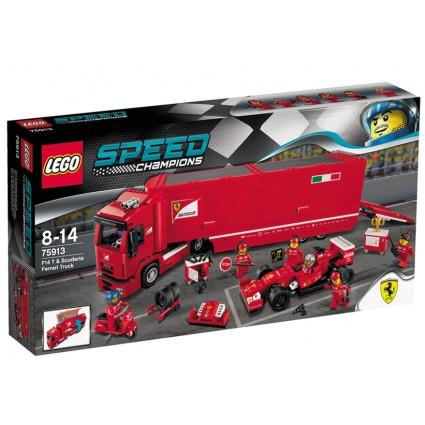 Lego-Speed Champions,Echipa Ferrari