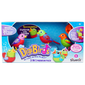 Digibirds,pasare interactiva,3b/set