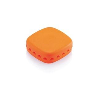 Organizator cabluri birou, portocaliu