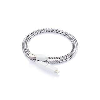 Cablu fashion incarcare telefon mobil, alb