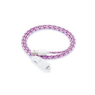 Cablu fashion incarcare telefon mobil, roz