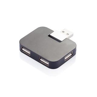 Hub USB portabil, negru
