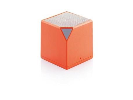 Boxa portabila cub, Bluetooth, portocaliu