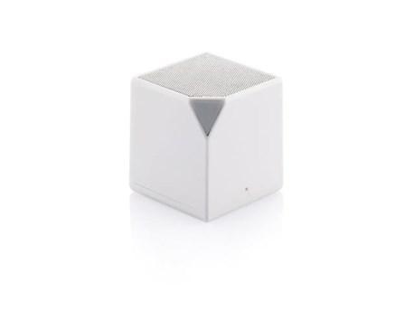 Boxa portabila cub, Bluetooth, alb