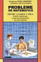 PROBLEME DE MATEMATICA PENTRU CLASA A VIII-A