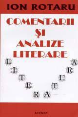 COMENTARII SI ANALIZE LITERARE