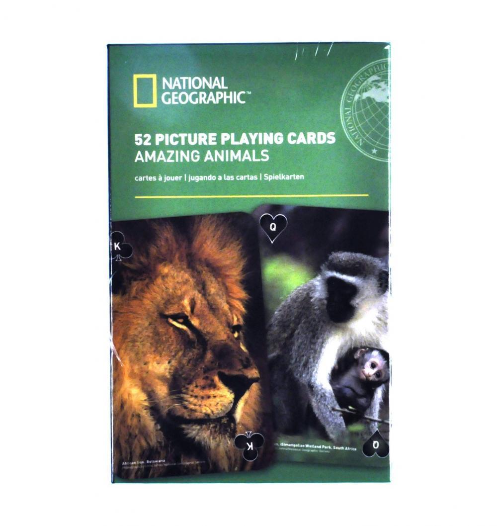 Carti de joc National Geographic - Animale