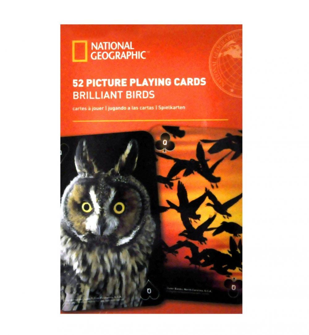 Carti de joc National Geographic - Pasari