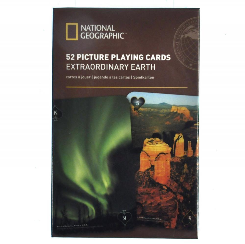 Carti de joc National Geographic -  Pamant