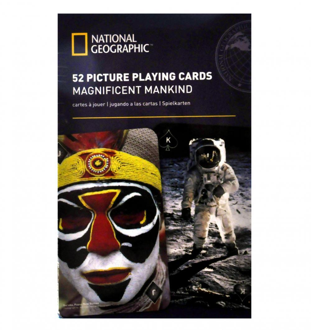 Carti de joc National Geographic - Magnifica Omenire