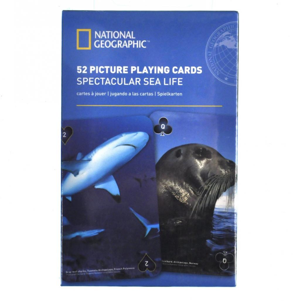 Carti de joc National Geographic - Viata subacvatica