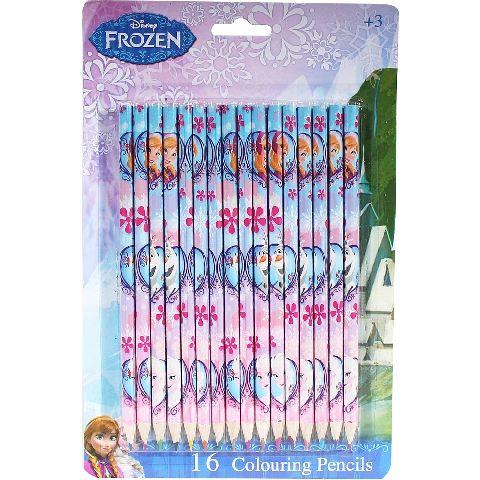 Creioane colorate,16buc/set,Frozen
