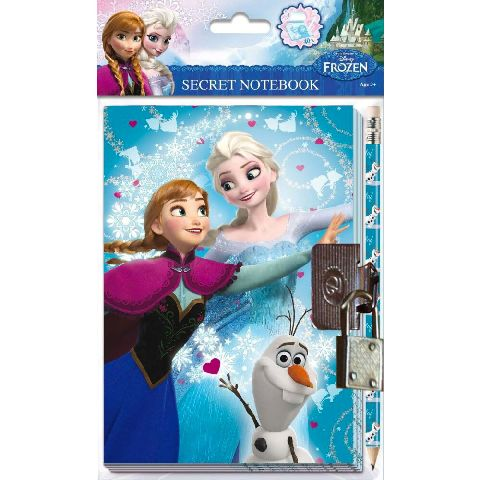 Jurnal cu lacatel,Frozen