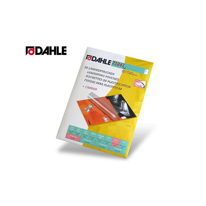 Folie laminare Dahle,A4,125mic,25b/set