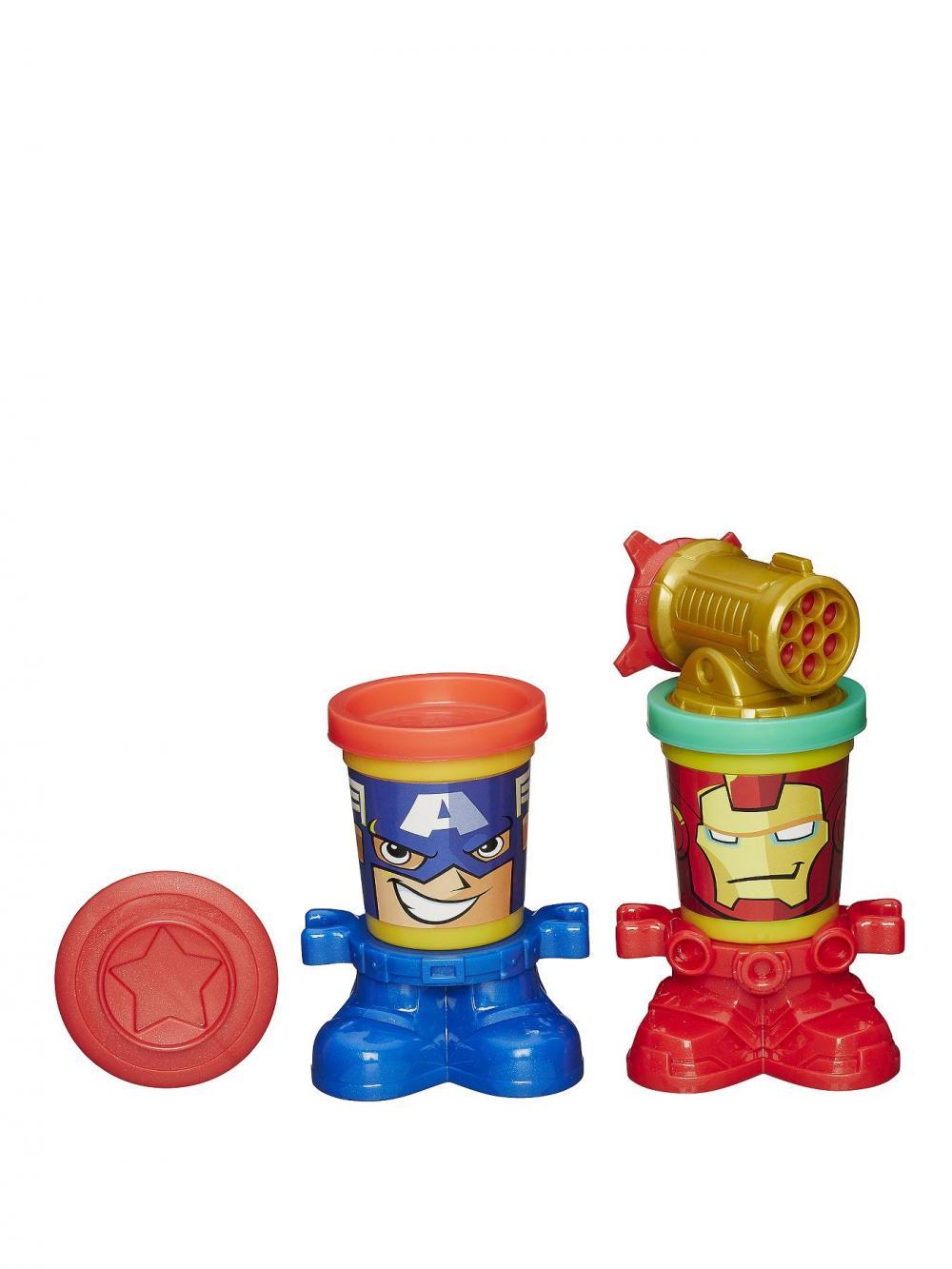 PlayDoh-Set creatie,eroi Marvel,2cutii plastilina