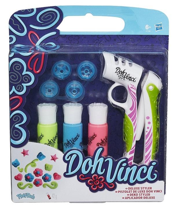 DohVinci-dispozitiv stilizat deluxe,3 tuburi pasta,accesorii,set
