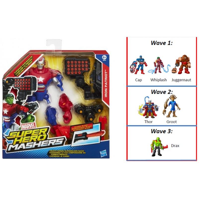 Avengers-Creaza robot,cu lansator si accesorii