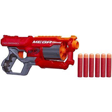 Nerf-Blaster Nstrike Mega Cycloneshock,6 proiectile