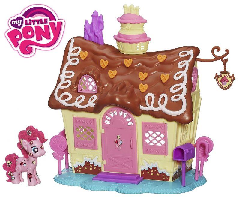 MLP-Figurina Pinkie Pie,magazinul de dulciuri