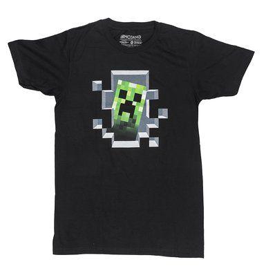 Minecraft Premium T-Shirt Creeper Inside Size S