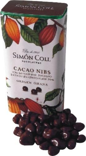 NIBS DE CACAO SIMON COLL 30G.
