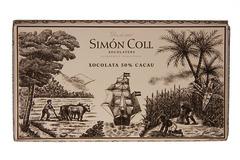 CIOCOLATA NEAGRA 50% CACAO SIMON COLL 200G.