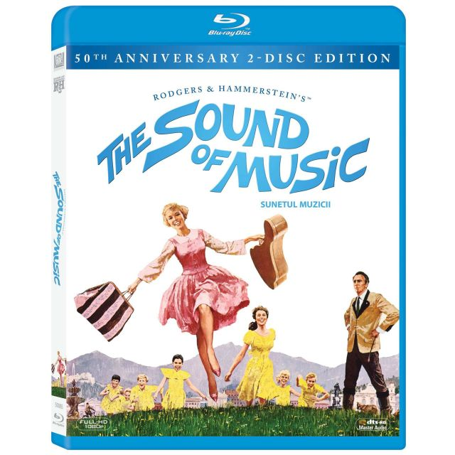 BD: SOUND OF MUSIC 50TH ANNIVERSARY EDITION 2 discs
