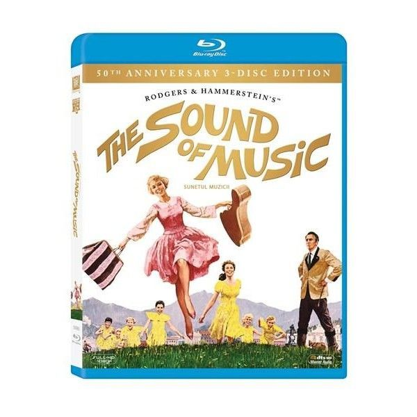 BD: SOUND OF MUSIC 50TH ANNIVERSARY EDITION 3 discs
