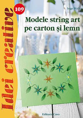 MODELE STRING ART PE CARTON SI LEMN-IDEI CREATIVE 109