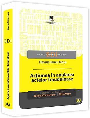 ACTIUNEA IN ANULAREA ACTELOR FRAUDULOASE (MOTU)