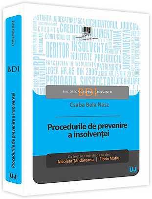PROCEDURILE DE PREVENIRE A INSOLVENTEI (NASZ)