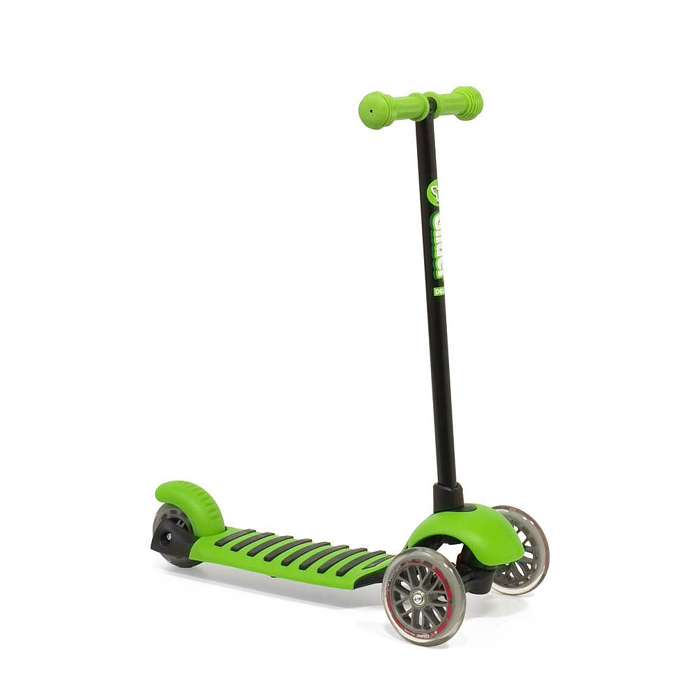 Trotineta Yvolution Glider Deluxe,verde,3A+