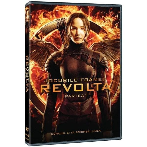HUNGER GAMES MOCKINGJAY Part 1 - REVOLTA Partea 1