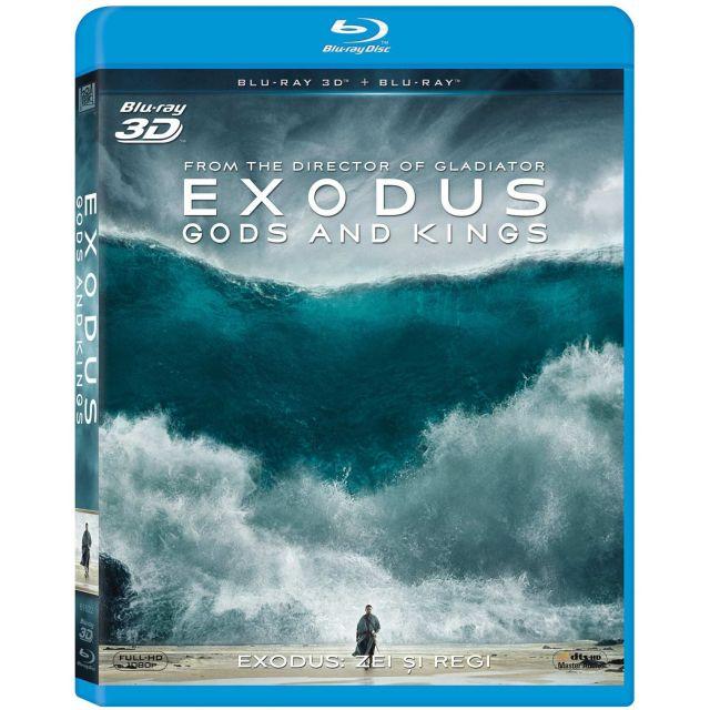 BD: EXODUS: GODS AND KINGS 3D+2D - ZEI SI REGI