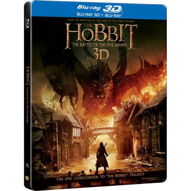 BD: HOBBIT 3 BATTLE OF THE FIVE ARMIES 3D STEELBOOK