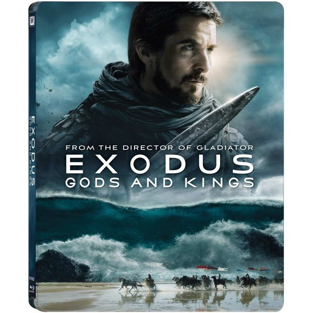 BD: EXODUS: GODS AND KINGS 3D Steelbook - ZEI SI REGI
