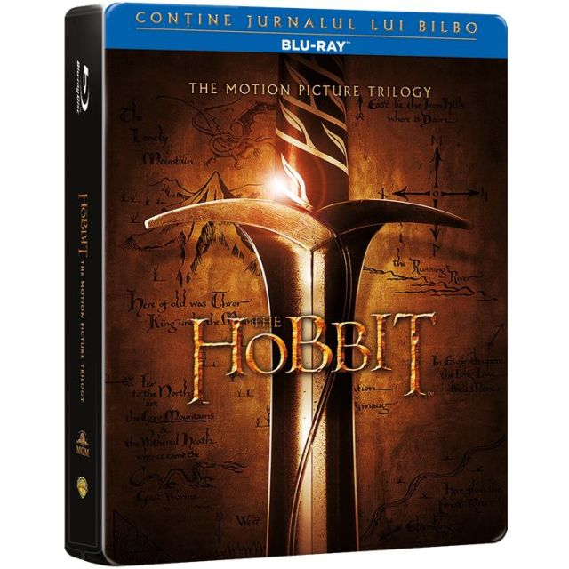 BD: THE HOBBIT TRILOGY -...